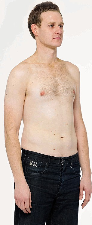 Dan Walker,35, host of Match of the Day, lost his love handles with a 15 minute workout
