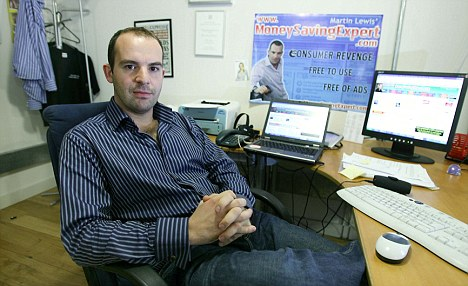 Huge windfall: Martin Lewis has sold his hugely popular website for £87m