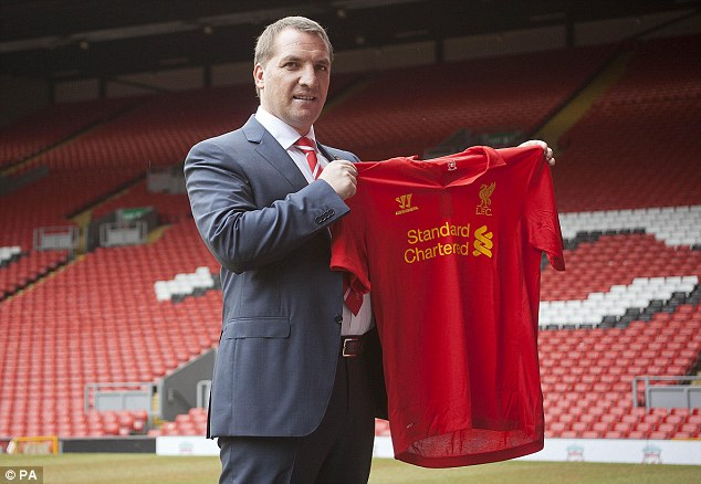 Rodgers with the shirt