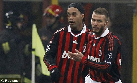 Italian job: The Brazil star also played in Serie with AC Milan