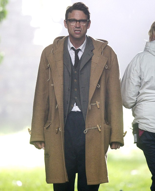 Cameo? Scottish actor Dougray Scott was also spotted on locaton