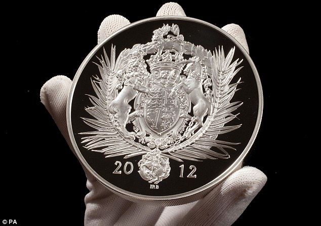 The emblems on the coins were designed by the renowned Ian Rank-Broadley who has previously worked on five and ten pound Diamond Jubilee coins