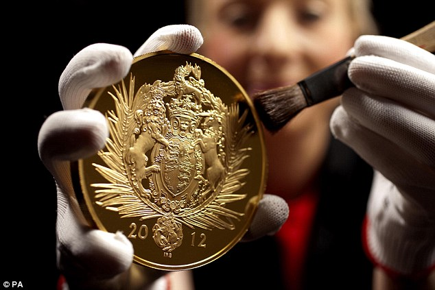 A coin fit for a queen: The Royal Mint needed special dispensation from parliament to make the £1,000 coin legal tender