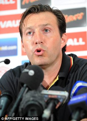 Waiting game: Marc Wilmots