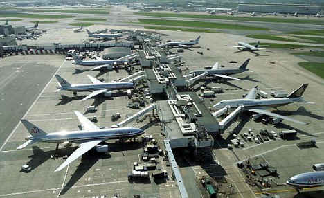 Grounded: The Government has ruled a third runway at Heathrow