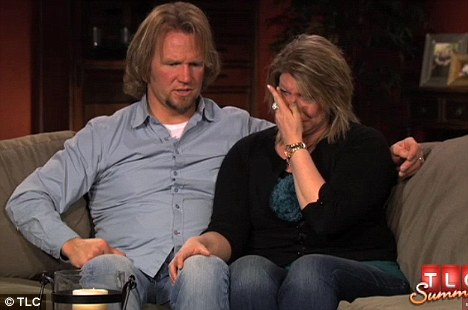 Still painful: Kody and Meri Brown recalled the miscarriage they had on the upcoming episode of Sister Wives