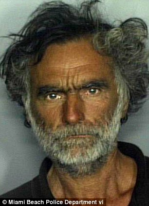 Ronald Poppo, 65, the homeless man whose face was eaten off during Memorial Day weekend in Miami