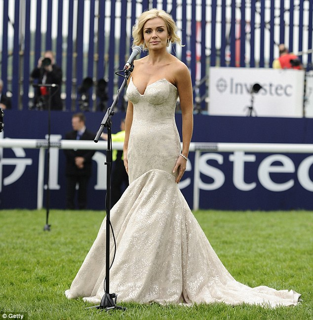 Feeling nervous? Katherine was the first person to sing the National Anthem to the Queen during the Jubilee celebrations
