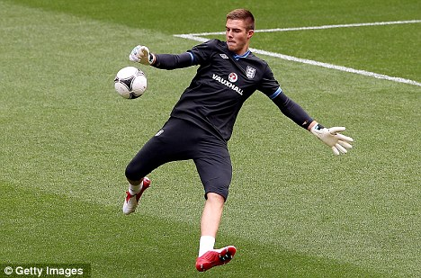 Keeps getting better: Jack Butland is sought after by Premier League clubs