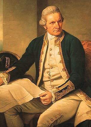Even Captain James Cook got involved, taking the Endeavour into the uncharted emptiness of the South Pacific