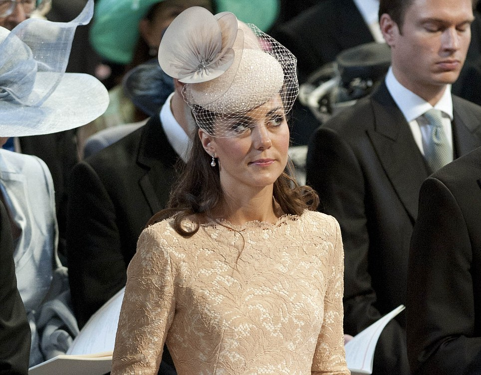 Milliner Jane Taylor, said she was 'delighted' that Kate chose to wear one of her designs