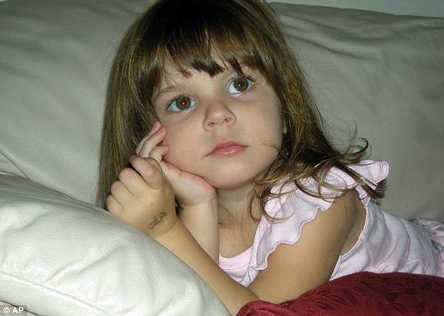 Gone: Anthony's toddler daughter Caylee, whose body was found in woods near Anthony's home in 2008