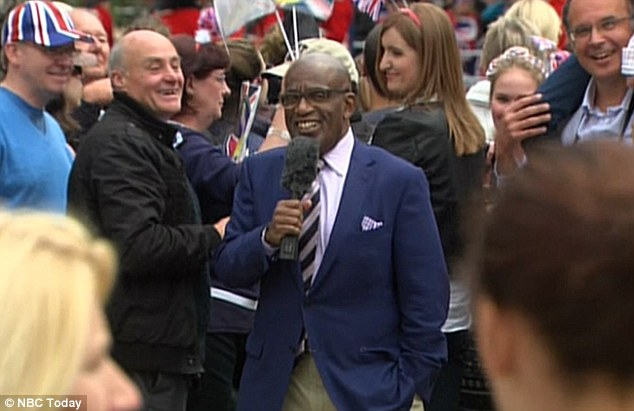 Getting to know the people: Today's Al Roker mingles with the crowds in London to ask about the Jubilee
