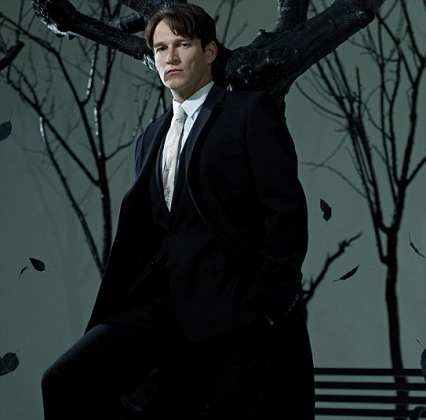 Blown away: For Stephen Moyer the True Blood pilot script stood heads and shoulders above everything he¿d recently read