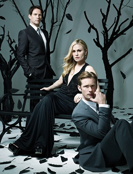 True Blood: The cast of the show, now in its fifth season, also feature in the issue