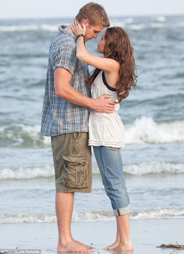 Life imitates art: Miley and Liam fell in love in 2009 on the set of their film The Last Song