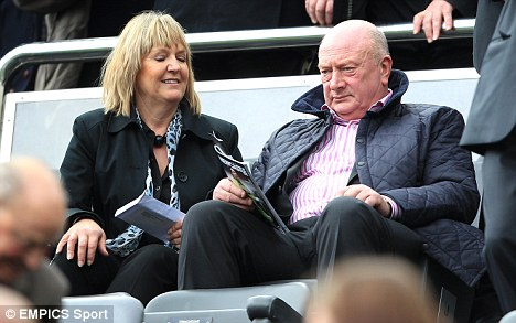 Sitting comfortably: Graham Carr has been rewarded at Newcastle after a string of successful signings