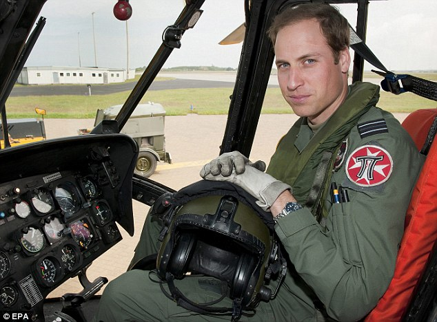 Prince William has qualified as a Search And Rescue captain, allowing him to lead rescues across the UK