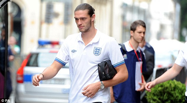 Bench: Andy Carroll is likely to start as a substitute