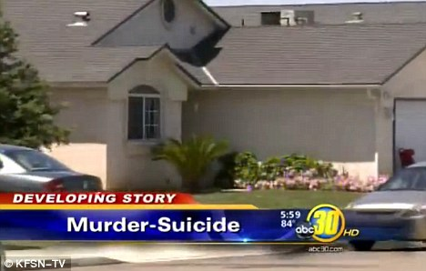 Horror: A 17-year-old boy also found in the home (pictured) was suffering from severe head trauma and was 'barely alive,' police said