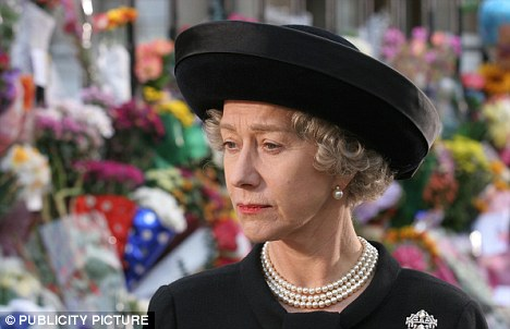Regal: Dame Helen said she was terrified of playing the role of Queen Elizabeth I