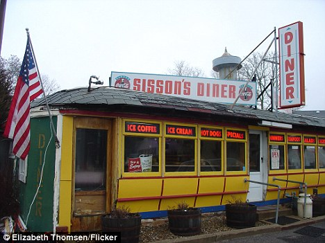 Rare: Sisson's Diner, which is one of the oldest and most unusual diners in Massachusetts - the only surviving diner that's a converted trolley car