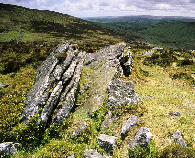 Tor logic: Sites such as Hookney Tor present the evidence for extended ice across much of the UK