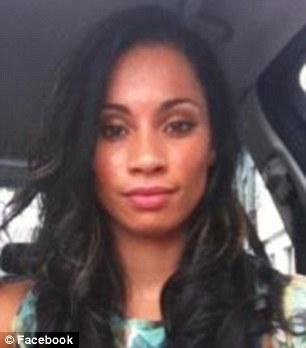 Double act: Irish model Jahnassa Aiken (R) is said to have acted as Rihanna's body double