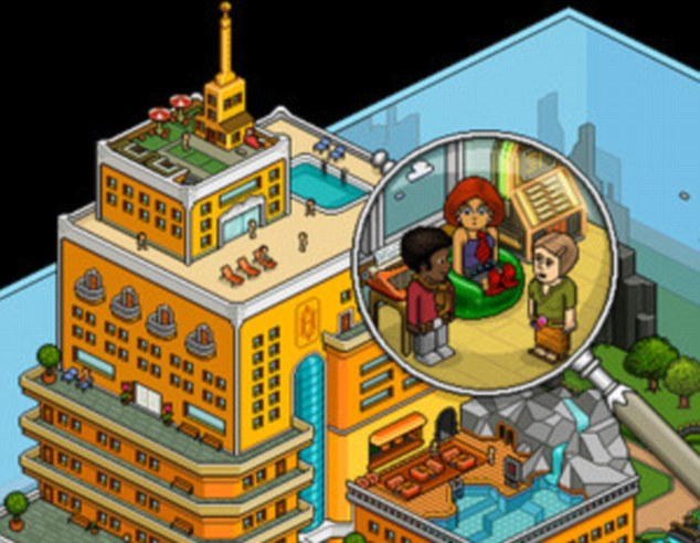 Habbo Hotel has proved hugely popular with young users who design their own hotels and interact with others, but not everyone on the site appears to have such innocent intentions