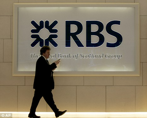 Rescue: Royal Bank of Scotland was effectively nationalised by the British government