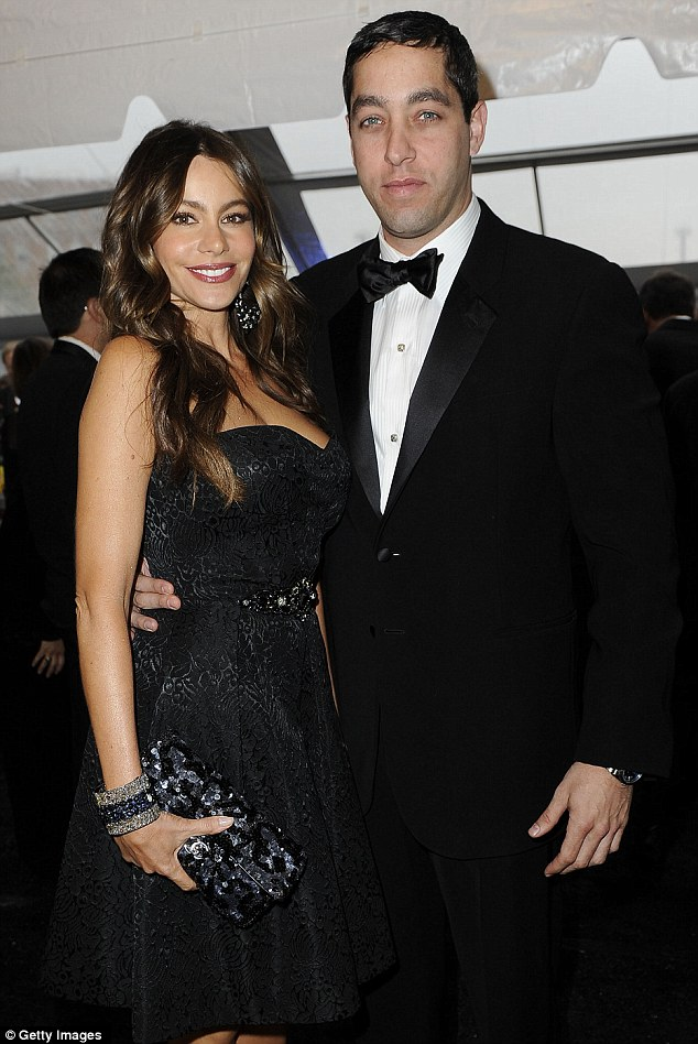 The way they were: Sofia and Nick were the picture of happiness at the White House Correspondents' Dinner Cocktail Reception back in April