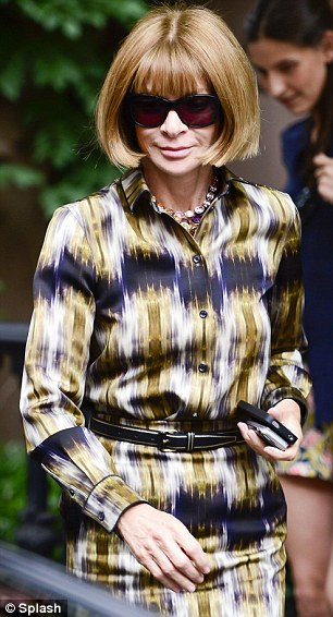 Teamwork: US Vogue editor Anna Wintour is co-hosting the fundraising dinner with the star