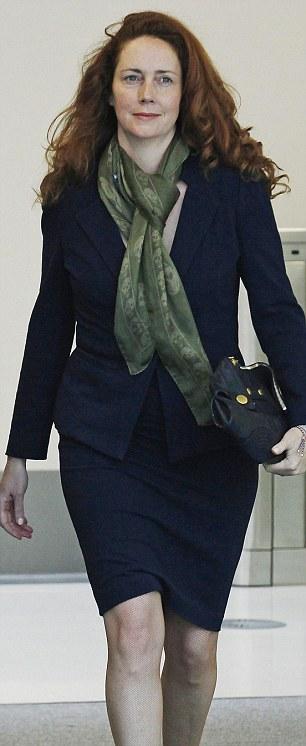 Former News International chief executive Rebekah Brooks