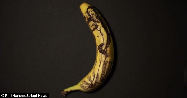 Detailed: Renaissance painter Sandro Botticelli probably never imagined that his Birth of Venus would appear on a banana