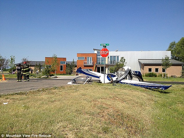 The aircraft crashed shortly after takeoff from Erie Municipal Airport and can not be salvaged