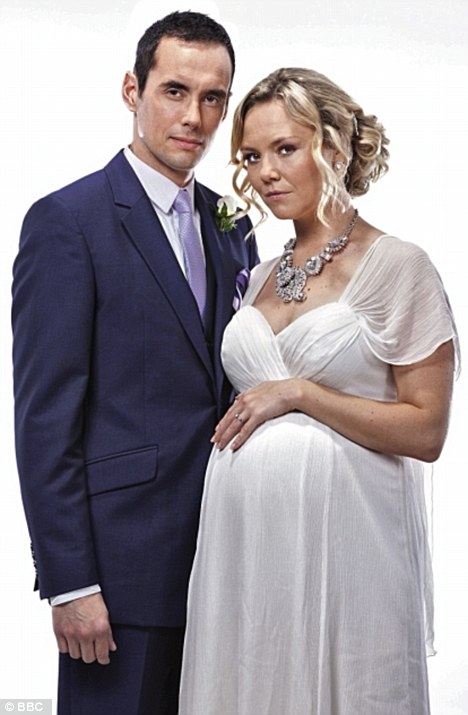 Dastardly duo: Will Michael and Janine become man and wife in this week's EastEnders?