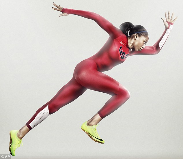 Ludicrous speed! The U.S. Olympic track and field team will wear the Nike all-in-one suit as their official uniform in the hope that it will make them faster