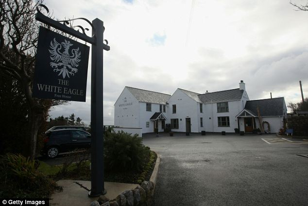Down-to-earth: William's local, The White Eagle, in Anglesey