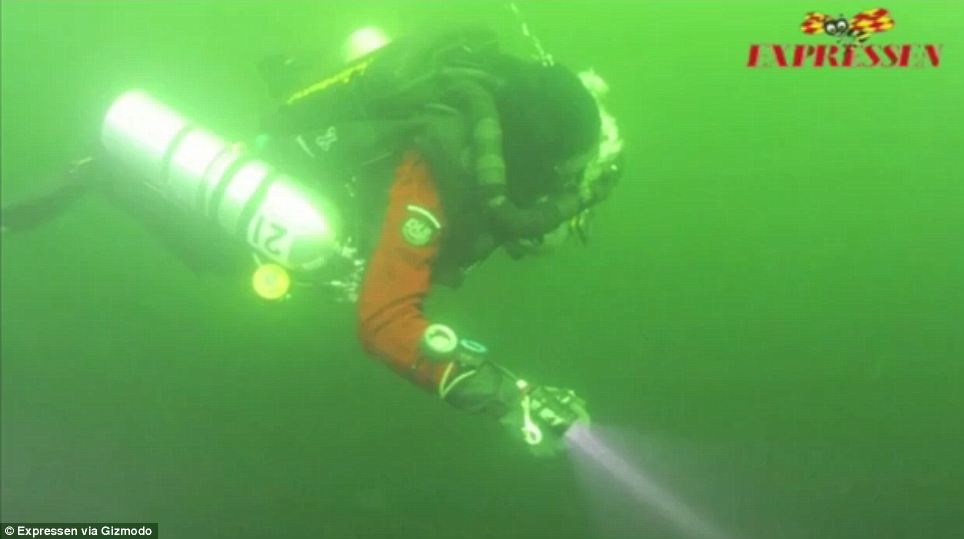 No clarification: The divers made their sonar discovery public but waited a year to make the dive because they had to gather enough funding and base off of weather conditions