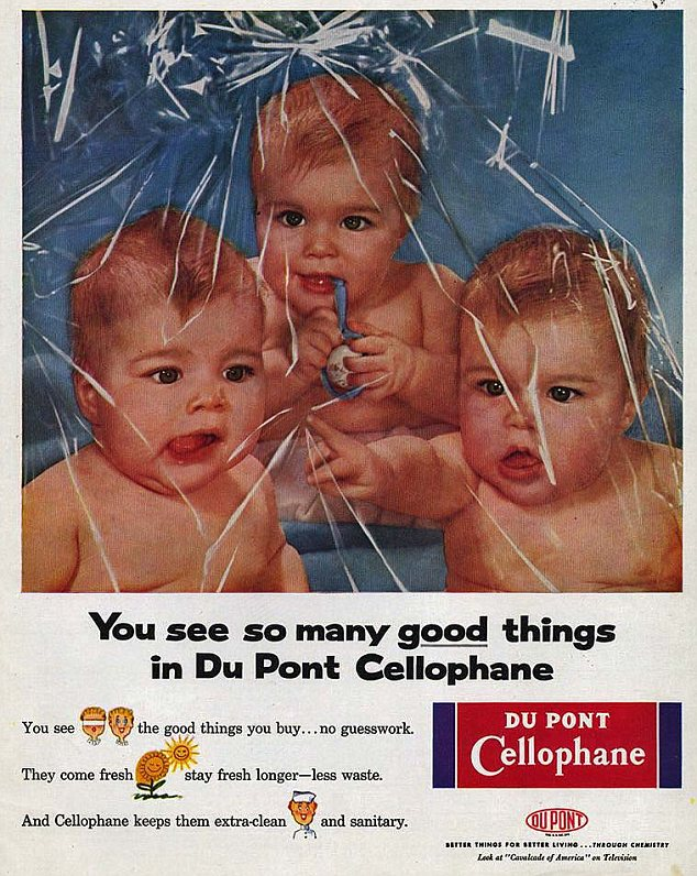 This is becoming a pattern: DuPont clearly thought babies would attract their housewife target audience