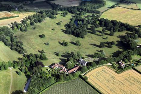 The creatures live in the estate's 75 acre deer park near Maidstone in Kent