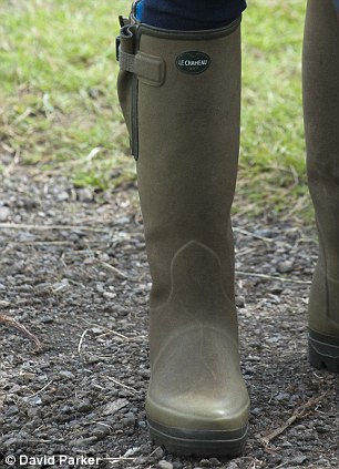 Kate's posh wellies