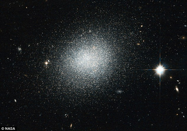 No use crying over spilled salt: However NASA are overjoyed to spot a dwarf galaxy