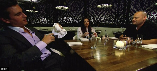 Future plans: Kim revealed she intends to opt for artificial insemination during a dinner with Scott and his friend