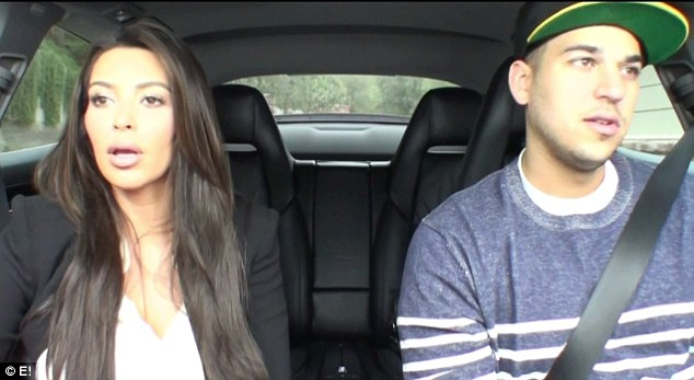 Lost her: Rob and Kim attempted to tail their mother, but lost her on the freeway