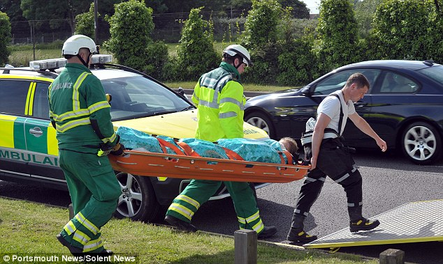 Hospital: Both girls were treated for shock following the incident, although they did not suffer any serious injuries