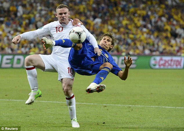 Comeback: Rooney made a welcome return to football following his ban