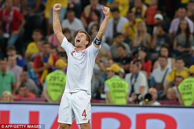 Heart on his sleeve: Gerrard