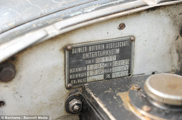 Serial number: According to the cars unworn handbook, it was sold under the order number 38130 and bought from The British Mercedes Ltd in London