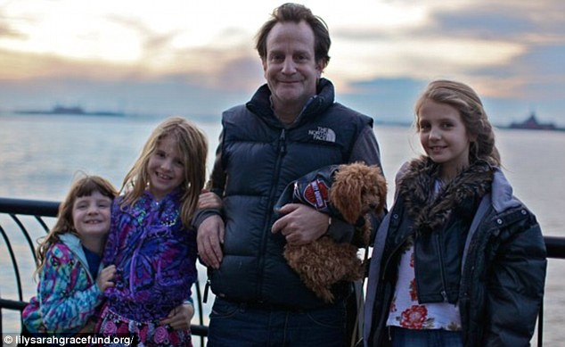 Grief: Mr Badger said his life ended the day he picked up the phone to be told of his daughters' deaths